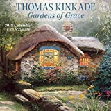 #4: Thomas Kinkade Gardens of Grace 2018 Wall Calendar