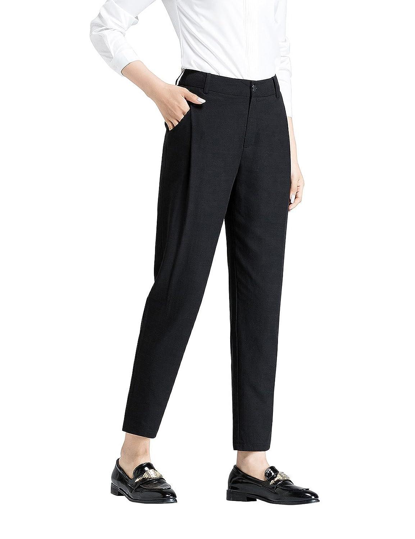 ADAMARIS Womens Harem Ankle-Length Ninth Pants Wear to Work