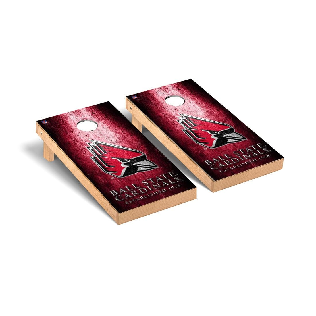 Victory Tailgate Ball State Cardinals Regulation Cornhole Game Set Museum Version