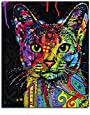 Framed Picture Painting By Numbers Abstract Animal Cat DIY Oil Painting On Canvas Home Decoration For Living Room 40x50cm