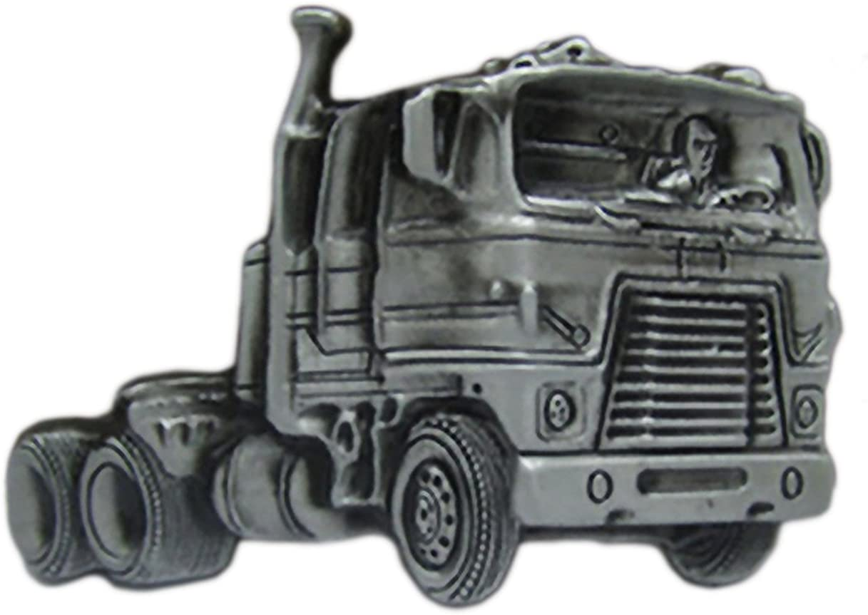 Shirtmatic Truck LKW Buckle Cowboy Trucker 3D G/ürtelschnalle