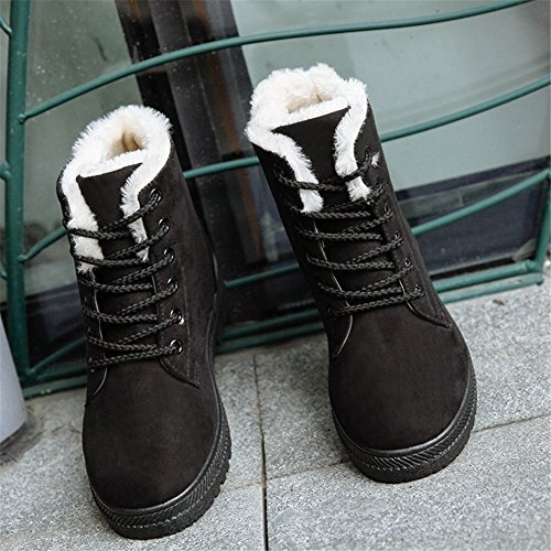 Hiver Neige de Bottes de Coton Chaussures Chaudes Femme Hengsong Bottes CwFx85qw