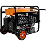 Togopower Gasoline Powered Generator GG8000, Hurricane/ Flood Supplies with 8000 Watts Remote Electric Start Backup for Home