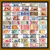 10 Banknotes Different Foreign Suitable for collector Nice1159 Long time worth Currency History Rare