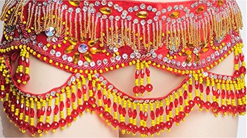 S Danza Paillettes Costume Mano Frangia Delle Fata Bra Strass 2 Silver Belly Wqwlf Dance halter A Fatto Rilievo Pancia Pcs In amp; Di Belt m Donne zXwxtP