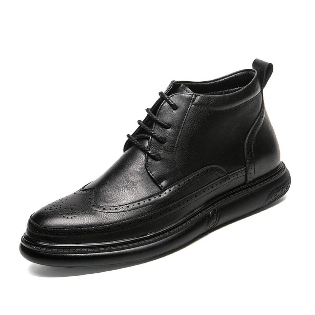 Herren Mode Freizeit Lederschuhe Licht Gemütlich Martin Stiefel Werkzeugschuhe Draussen Flache Schuhe EUR GRÖSSE 37-44