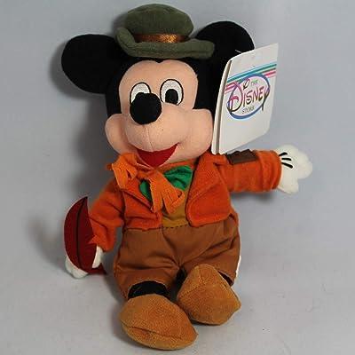 "Disney Bean Bag Plush Mickey Mouse As Bob Cratchit 8"": Toys & Games"