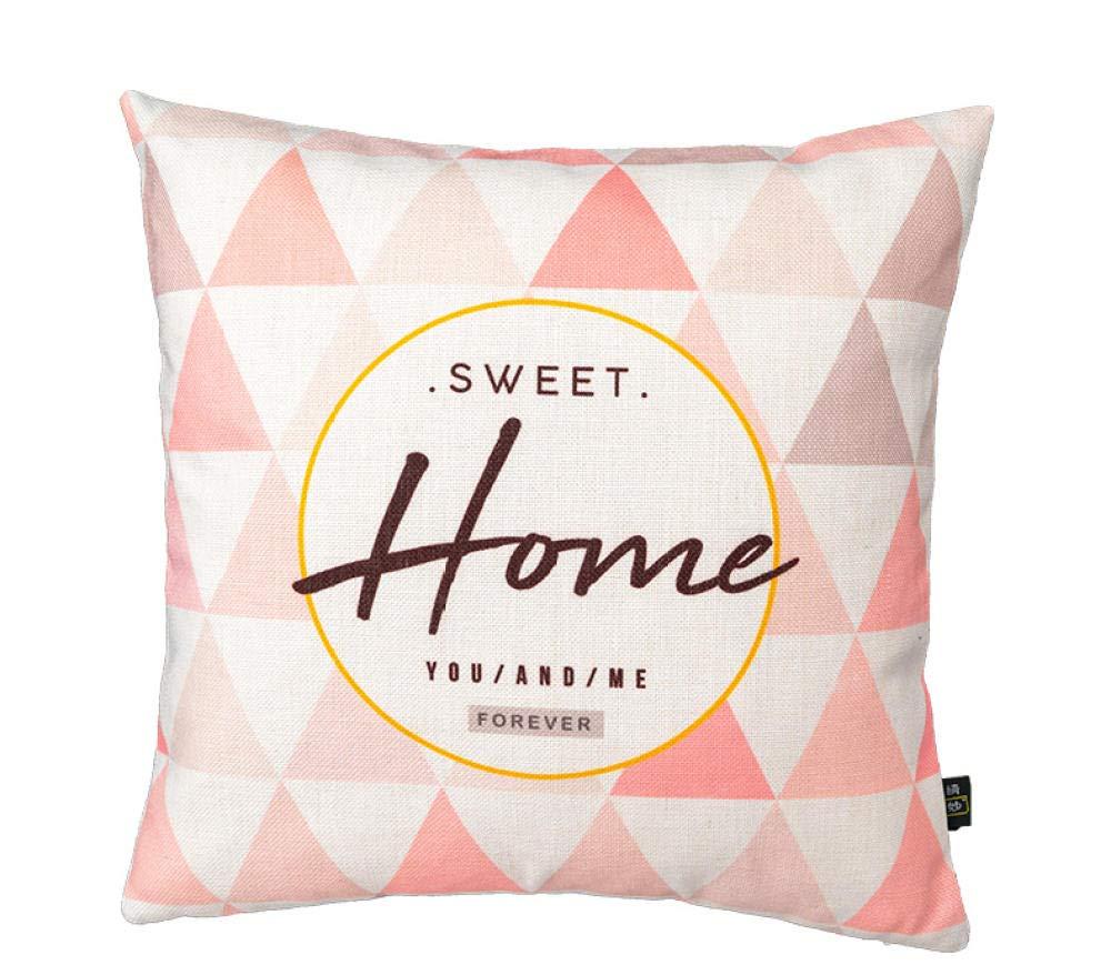 La almohada Cojín almohada de algodón y lino almohada ...