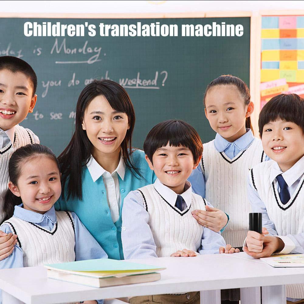 Portatile Dispositivo traduttore di Lingua Affari e Shopping Viaggi traduzione per apprendimento MOGOI 40 Lingue in Tempo Reale traduttore immediato