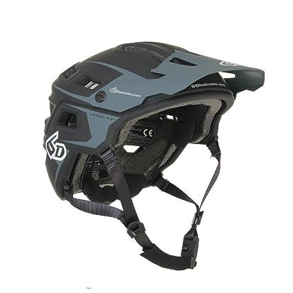 6D Helmets ATB-1T Evo Helmet Black/Grey, M/L