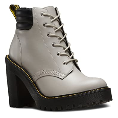 Dr. Martens Women's Persephone Padded Collar Boot Soft Grey Danio ...