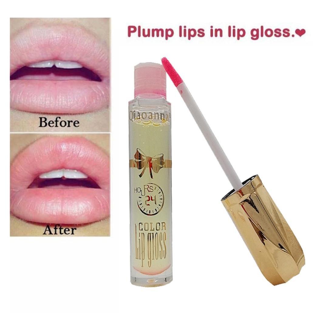 Alonea Lip Plumper, Plumper Liquid Lipstick Long-Lasting Plump Lip Gloss Beauty (Random)