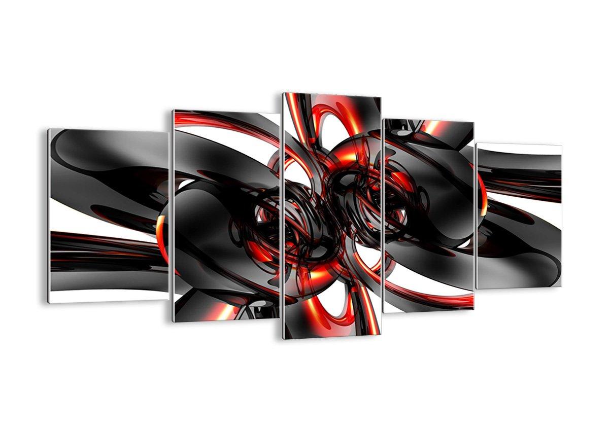 Bild auf Glas - Glasbilder - fünf Teile - Breite  160cm, Höhe  85cm - Bildnummer 1342 - fünfteilig - mehrteilig - zum Aufhängen bereit - Bilder - Kunstdruck - GEA160x85-1342