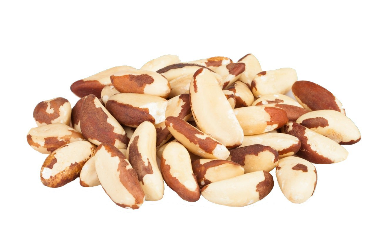 NUTS U.S. - Brazil Nuts | Shelled Whole Kernels | Raw and Unsalted | Non-GMO and Steam Pasteurized | Packed In Resealable Bags!!! (4 LBS) by NUTS - U.S. - HEALTH IN EVERY BITE !