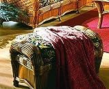 Ottoman with Cushion (Solar Kiwi (All Weather))