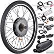 "AW 26""x1.75"" Rear Wheel Electric Bicycle LCD Display Motor Kit E-Bike Conversion 48V1000W"