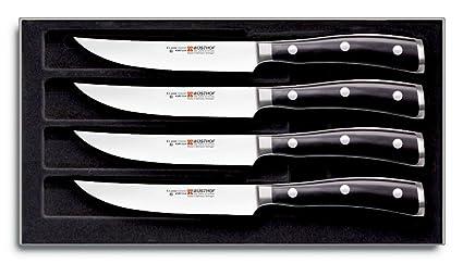 Wüsthof Cuchillos para la Carne, Acero Inoxidable ...