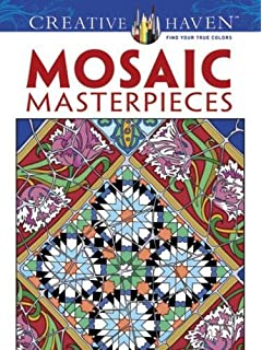 Amazon modern elegance coloring book 45 weirdly wonderful creative haven mosaic masterpieces coloring book creative haven coloring books fandeluxe Images