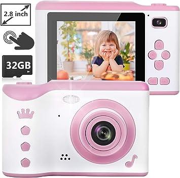 Amazon.es: NEXGADGET Cámaras Digitales para Niños Cámara de Fotos ...