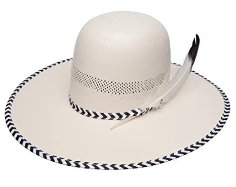 Image Unavailable. Image not available for. Color  Wrangler Men s Cyanide Straw  Cowboy Hat ... 51fa388b14f