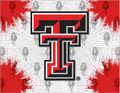 Texas Tech Logo Canvas Art