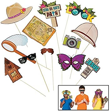 Walk His Way VBS Photo Stick Props Bible School: Amazon co uk