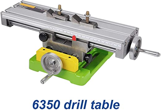 Multifunction Worktable Milling Machine Working Table Milling Machine Compound Drilling Cross Sliding Table Vise for DIY Lathe Bench Drill,Shipping from US