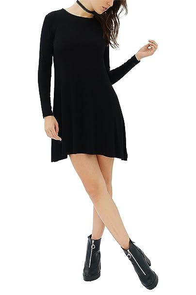 trueprodigy Casual Mujer Marca vestido Basico Ropa Retro Vintage Rock Vestir Moda Sexy Deportivo Slim Fit Designer Cool Urban Fashion Cocktail Elegante ...