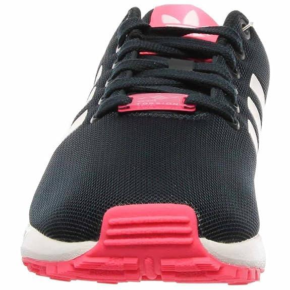 5d27cb33c15c adidas zx flux black orange adidas zx flux womens shoes carbon black ...