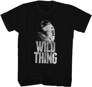 American Classics Mayor comedia de deportes de la liga de béisbol película cosa salvaje camiseta para hombre XXXX-Grande Negro: Amazon.es: Ropa y accesorios