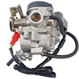 VideoPUP(TM) Carburetor Carb for Scooter 50cc Chinese GY6 139QMB Moped 49cc 60cc SUNL BAJA ATV