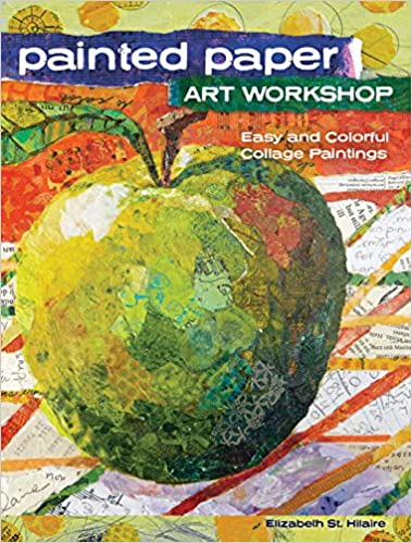 amazon painted paper art workshop easy and colorful collage