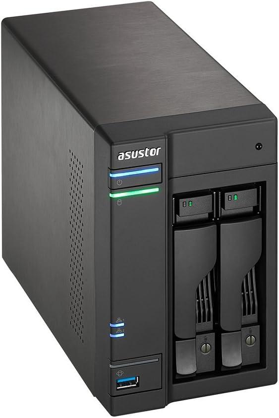Asustor AS6202T - Unidad Raid (Unidad de Disco Duro, SSD, Serial ...