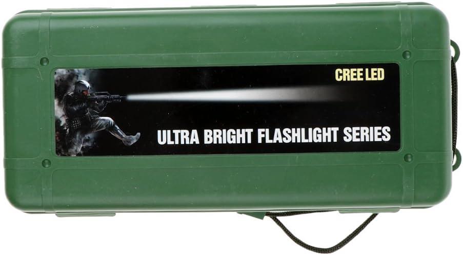 Lampe de Poche Sharplace Bo/îte Antichoc et /Étanche pour Stockage Lampe de Camping Lampe de Nuit