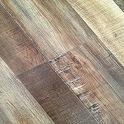 """12mm Thickness Ancient Oak Click Locking Laminate Flooring Planks, 47.83""""L x 7.72""""W per plank (17.943 Sq. ft./case)"""