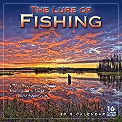 The Lure of Fishing 2019 Wall Calendar