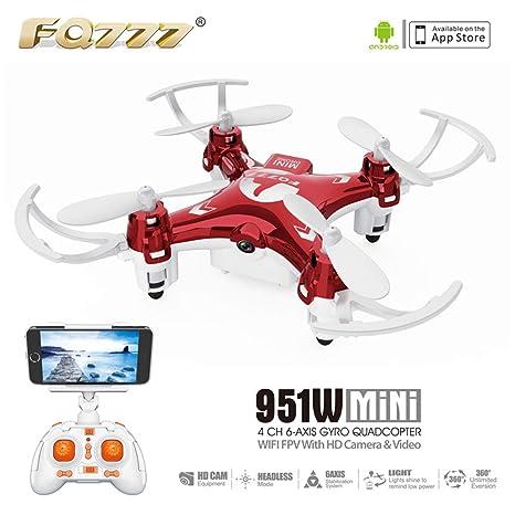 MERRYHE Mini Drone Aviones portátiles GPS Control Remoto ...