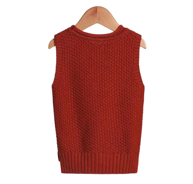 GKKXUE Gilet di Cotone per Bambini Maglia di Vento per Campus British College Maglione per Bambini Primavera e Autunno