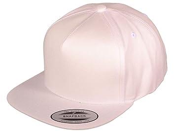 Wholesale 5 Panel Cotton Flexfit Yupoong Flat Bill Blank Snapback Hats w  Green  Underbill( 155326eed6cb