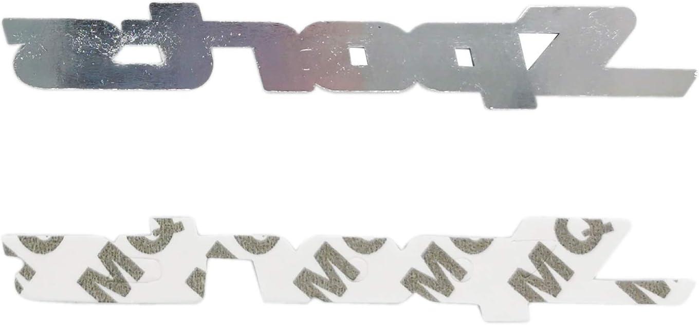 SUKRAGRAHA Metal Sports Car Emblem Badge Sticker Adhesive Decal Logo for Mitsubishi Montero Range Rover Hyundai Ford Edge Explorer 2 Pack