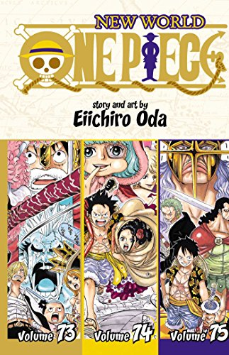 Four Star Pirate Hat - One Piece (Omnibus Edition), Vol. 25: Includes vols. 73, 74 & 75