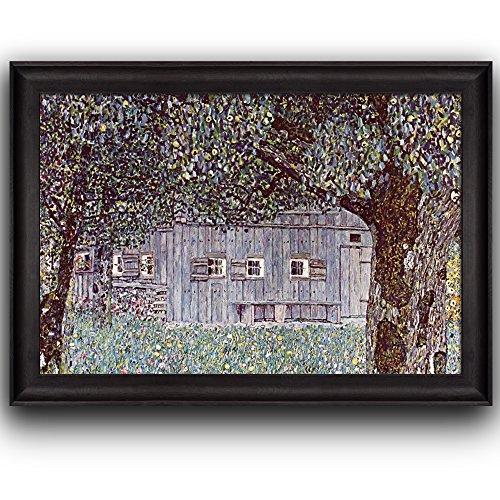 Farmhouse in Upper Austria 1912 by Claude Monet (No Signature) Framed Art