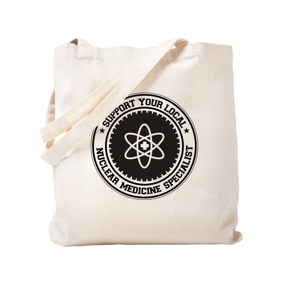 CafePress – サポートNuclear Medicineスペシャリストトートバッグ – ナチュラルキャンバストートバッグ、布ショッピングバッグ S ベージュ 0274210037DECC2 B0773VCZTM S