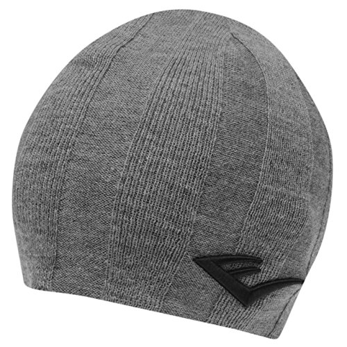 Everlast Mens Ropes Hat Beanie Training Knitted Grey Marl/Char (Everlast Cap)