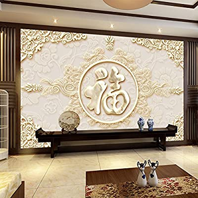 XLi-You 3D 100, The Chinese Tv Background Wall Paper Seamless Wall Cloth Paintings