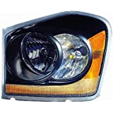Depo 334-1110P-AS2 Dodge Durango Black Headlight Assembly
