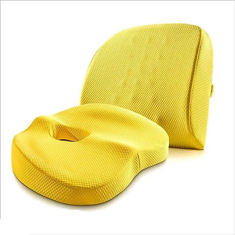 Amazon.com: Juego de cojines sentados, cojín ergonómico, un ...
