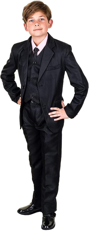 Kinder Fest Anzug Kommunionsanzug Smoking Extra Hemd in Vielen Farben Les Voiliers 6tlg