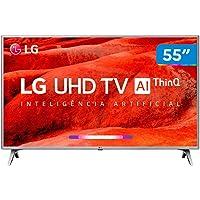 "Smart TV 55"" 55UM7520PSB LG 4K HDR Ativo, ThinQ AI Inteligencia Artificial, DTS Virtual: X"