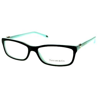 1cf19471e9 Tiffany   Co. TF2036 Eyeglasses Top Black Blue (8055) TF 2036 8055 54mm  Authentic